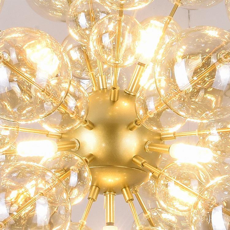 Nordic glas ball blase anhänger lampen post moderne kunst restaurant schlafzimmer wohnzimmer FÜHRTE anhänger licht