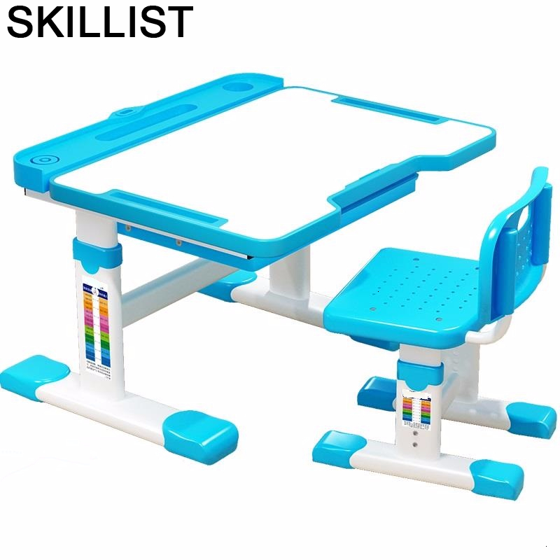 Escritorio Infantil Tavolo Bambini Silla Y Mesa Infantiles Cocuk Masasi Adjustable Bureau Enfant For Kinder Study Kids Table