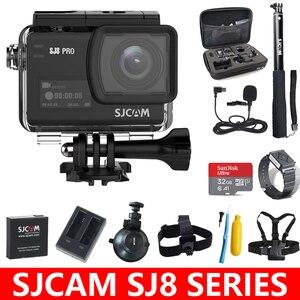 Image 1 - Original SJCAM SJ8 Series SJ8 Air & SJ8 Plus & SJ8 Pro Action Camera 1290P 4K WIFI Remote Control Waterproof Sports DV