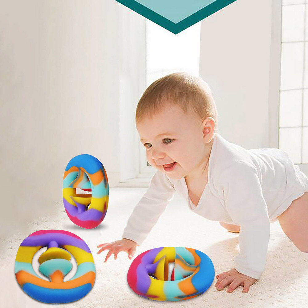 Anti Stress Finger Hand Grip Stress Reliever Fidget Toy Adult Child Simple Dimple Stress Toys Decompression Pop It Dropshipping img2