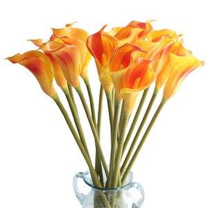 Image 5 - Büyük 67cm Gerçek Dokunmatik gelinçiceği yapay çiçekler Düğün Dekoratif Çiçekler Sahte Çiçekler Düğün Parti Dekorasyon Aksesuarları