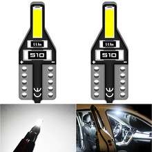2x T10 W5W Led Bulb 168 Car Interior Reading Light For Honda Civic Accord Crv Fit Jazz City Hrv Cr-v Spoiler Element Insight MDX