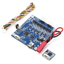 2 軸 bgc 3.1 ジンバルコントローラ/ptz コントローラ付き 6050 センサー fpv multirotor