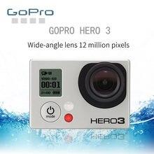Gopro hero 3 câmera de ação câmera de movimento preto selo original