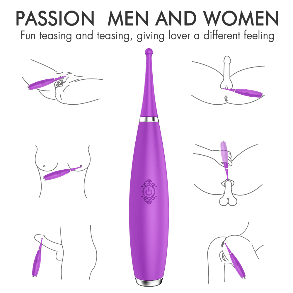 G Spot Vibrator Powerful High Frequency Tease Clit Massager Fast Orgasm Clitoris Stimulator Vibrators Sex Toys for Women Adults in Vibrators from Beauty Health
