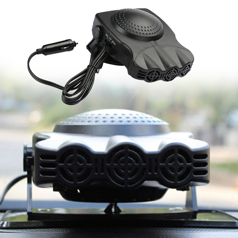 Dehumidifier Defroster Electric Heater New Quick-Heating Multi-Function 12V 150W Automobile Heating Cooling Fan Winter Car