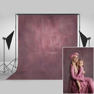 Image 1 - Mocsicka Pink Abstract Texture Photograohy Backdrops Newborn Baby Maternity Portrait Profession Backgrounds for Photo Studio