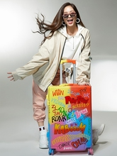 Fashion Graffiti Suitcase Spinner…