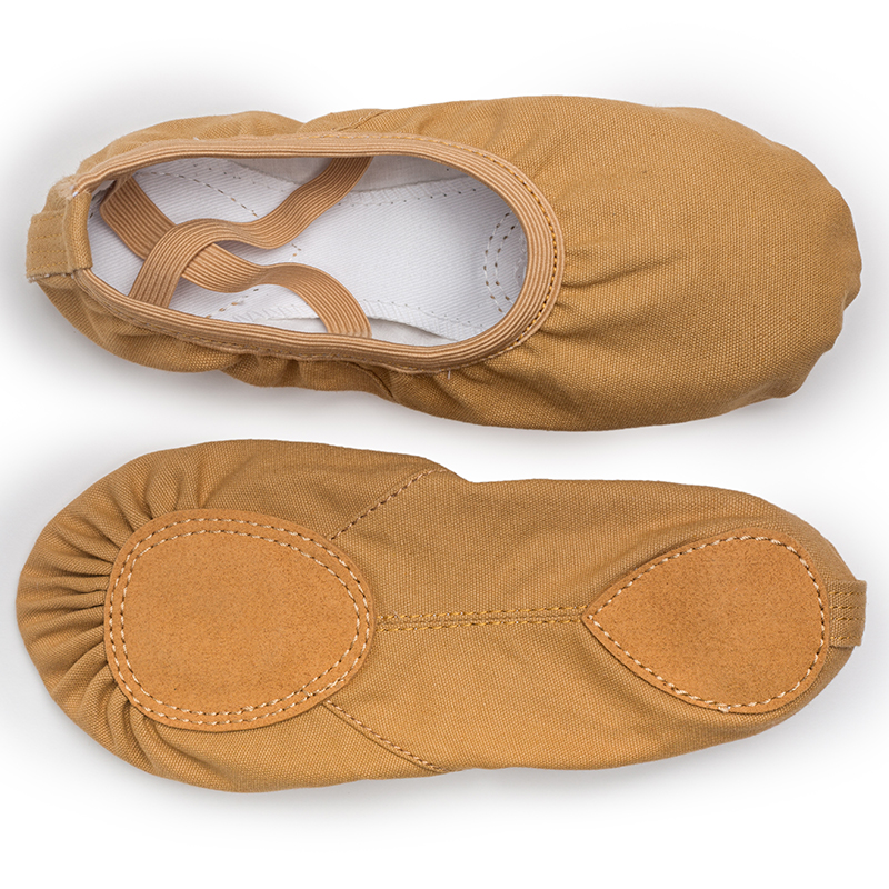 USHINE EU23-45 Professional Quality TuoSe Slippers Canvas Soft Sole Belly Yoga Gym Ballet Dance Shoes Girls Woman Man Ballerina
