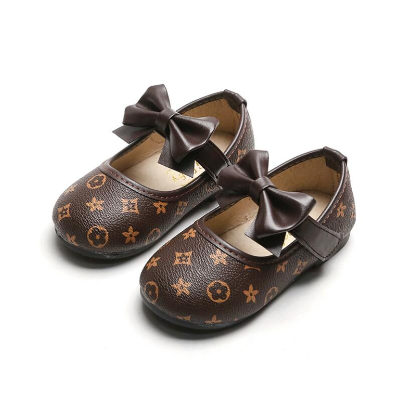Kids Leather Shoes 2020 Casual Shoes Girls Loafers All Sizes 21-30 Boys Slip-on Soft Breathable Shoe Princess Party Sneakers