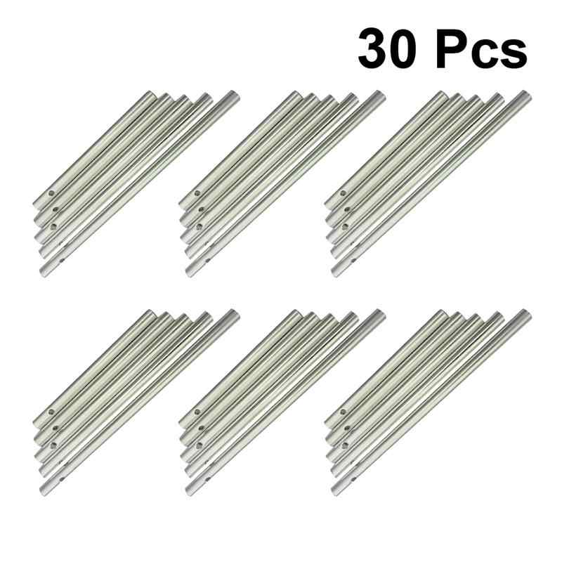 30Pcs Wind Chime Tubes Set Unique Empty Wind Chime Making Kit for Garden Home