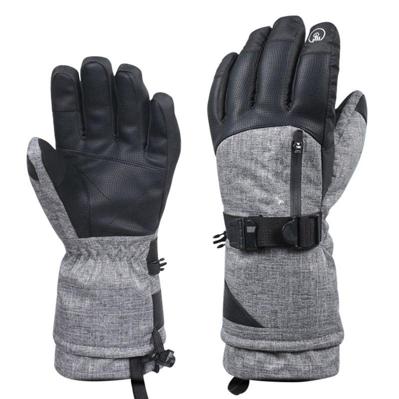 Men Women New Winter Warm Waterproof Wear-resistant Thickening Cycling Non-slip Sports Thinsulate Ski Gloves