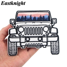 K1250 Horror Movies Car Patches for Clothing Iron on Embroidered Sew Applique Cute Patch Fabric Badge DIY Apparel Accessories zotoone iron on cute alien patches for clothing t shirt cool badges embroidered diy cool patch sew stripe on clothes applique g