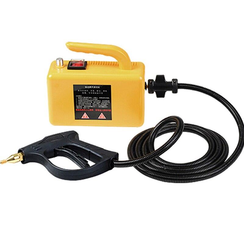 High Pressure Steam Cleaner 220V Steam Cleaner 2600w Air Conditioner Kitchen Hood High Temperature Sterilization Disinfection