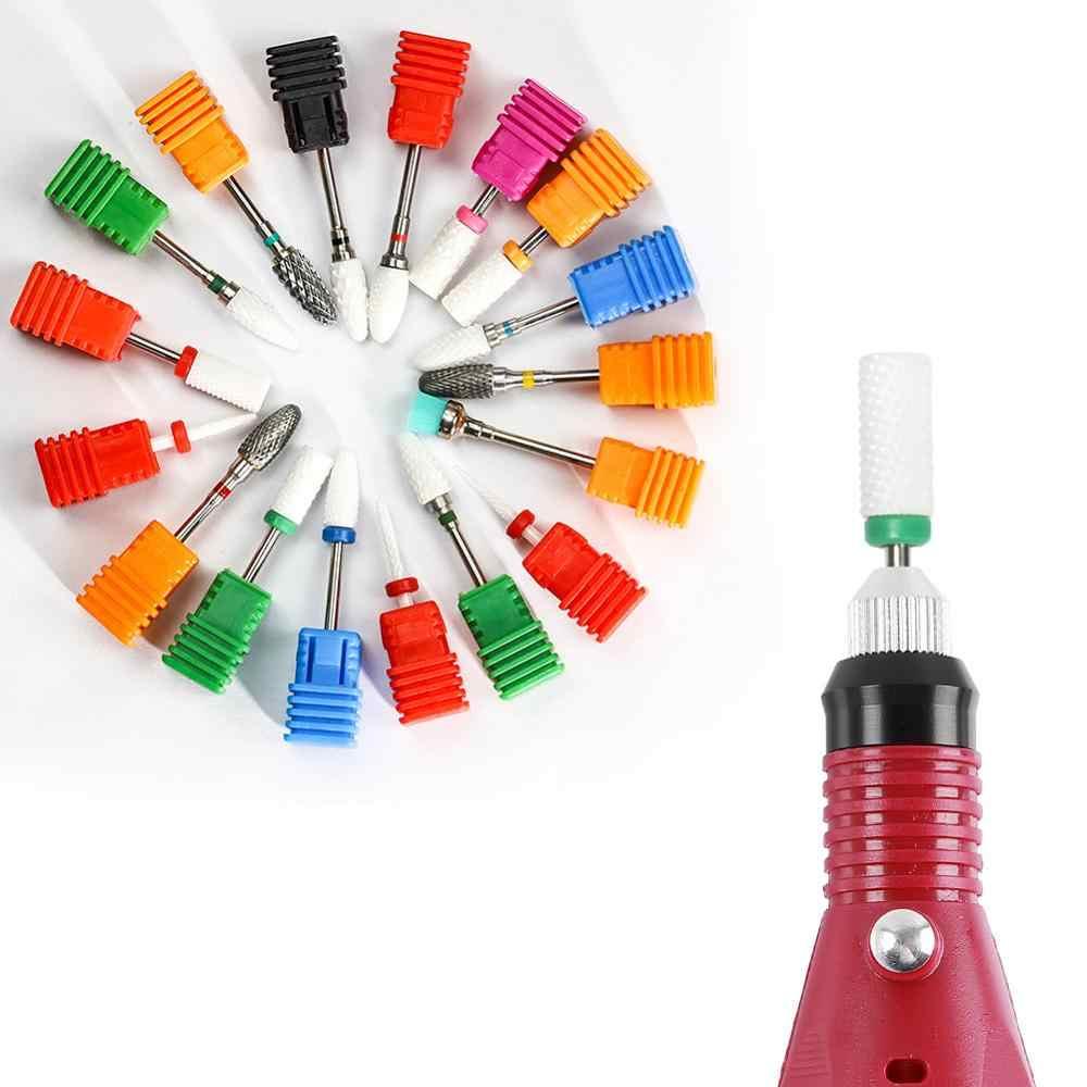 Coscelia Nial Keramik Elektrik Drill Manikur Mesin Nozzle Mata Bor Aksesori untuk Nials Acrylic Uv Gel Tips Remover Alat