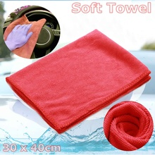 10/20Pcs Car Care Polishing Wash Towels Microfibers Car Detailing Cleaning Soft Cloths Home Window Washing Cloth Red/Green