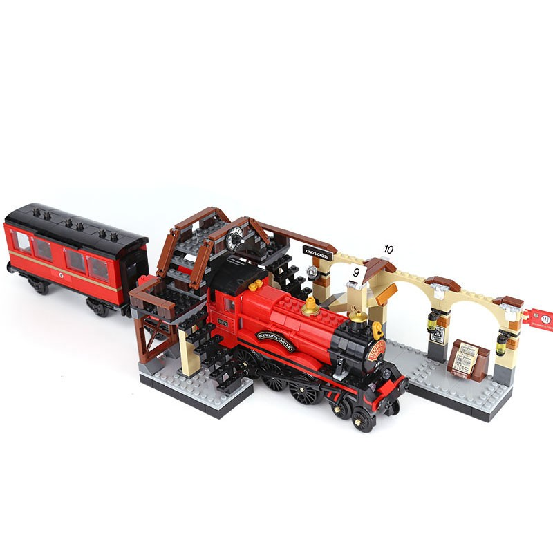 Harri Movie Series Express Train Compatible <font><b>16055</b></font> 75955 Building Blocks Bricks Model Educational Toys Gifts image