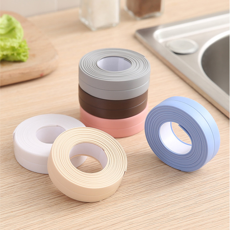 Caulk Strip Sealant Tape for Bathtub Self Adhesive Sealing Tape for Kitchen Countertop Bathroom Shower Toilet Sink Wall Corner