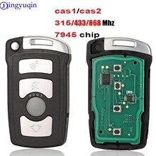 jingyuqin Full Remote Key Car 7945 chip BMW serii 7 730/740 (E65 / E66) CAS1 / CAS2 Anti kradzieżą Systemu 315/433/868