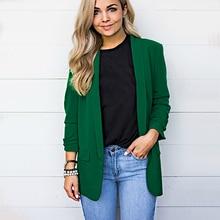 Autumn Chiffon Blazer Loose Casual Solid Coat Woman 5XL Suit