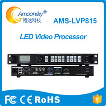best quality ams-lvp815 led video processor support linsn ts802d send card for full color video wall 4 screens