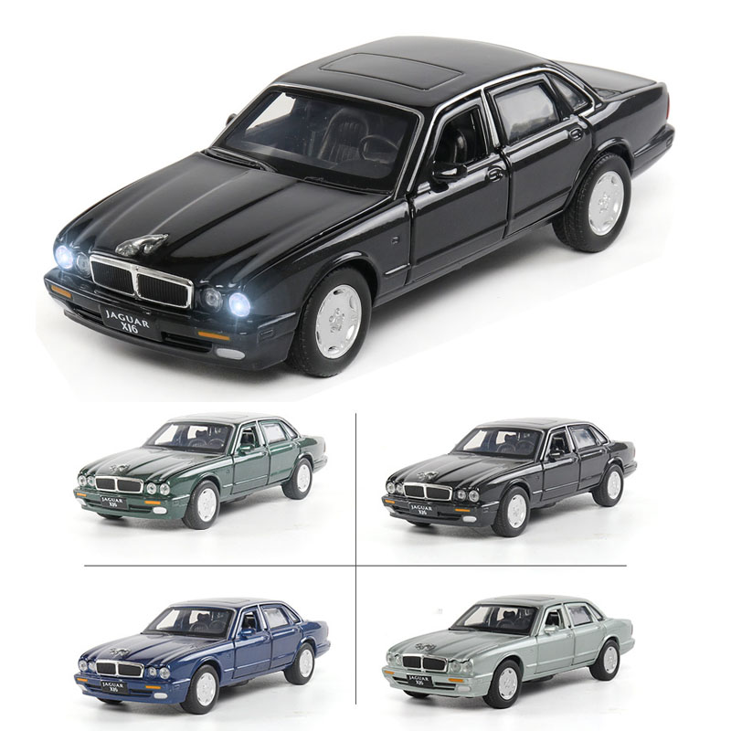 1:32 Jaguar XJ6 Car Model Alloy Car Die-cast Toy Car Model Sound And Light Children's Toy Collectibles Free Shipping