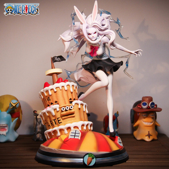 Japanese Anime One Piece GK moon the lion Carrot Statue PVC Action Figure Collectible Model Toy For Children Christmas Gift 33cm model fans one piece 28cm mr 1 daz bones gk resin figure toy for collection handicrafts