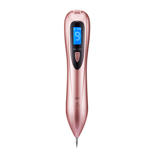 Image 4 - Laser Plasma Pen Spot Remover Pen With 20 Needles 9 level LCD Face Skin Dark Mole Removal Machine Wart Tag Tattoo Removal Beauty