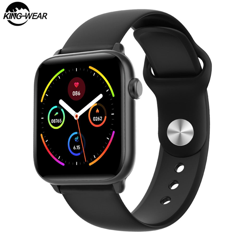 2020 KW37 pro New Smart Watch Ip68 Waterproof Health Heart Rate Smartwatch Sports Tracker Body Temperature Measurement Men