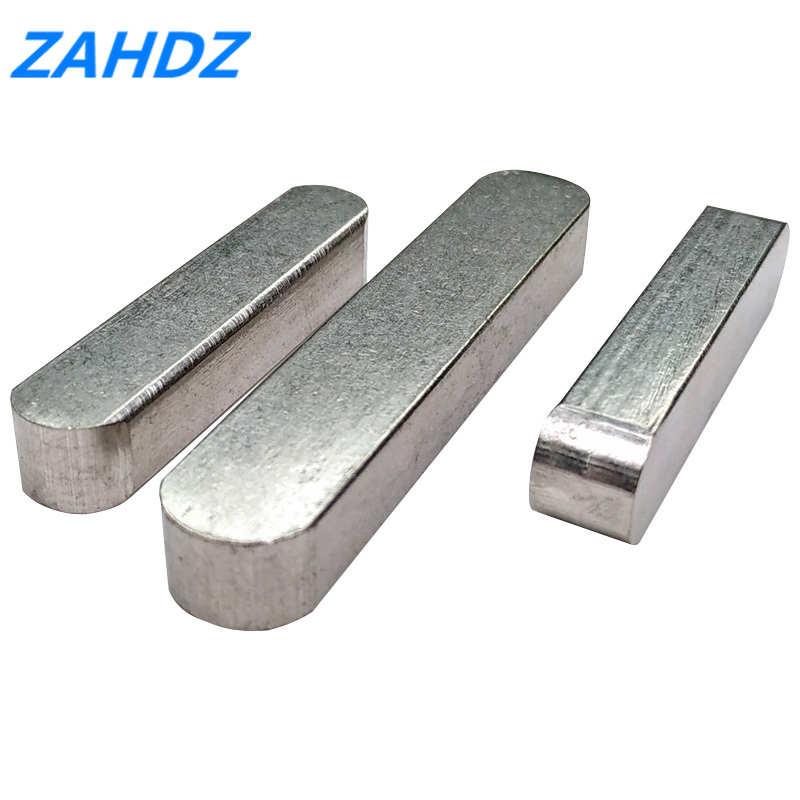10Pcs 3*3 4*4 5*5 6*6 Square And Rectangular Keys GB1096 Stainless Steel Dowel Drive Shaft Parallel Key