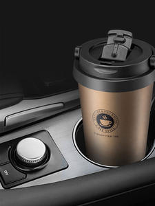 Travel Mug Thermos Flask Coffee-Mug Stainless-Steel Vacuum Insulated Double-Wall