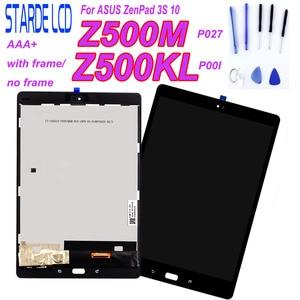 High Quality For ASUS ZenPad 3S 10 P027 Z500M Z500KL P001 Z500 LCD Display Monitor Touch Screen Digitizer Assembly Repair Parts(China)