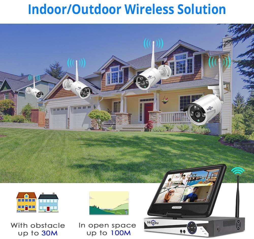 Hiseeu CCTV Camera System Wireless