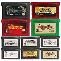 32 Bit Video Game Cartridge Console Card Fire Emblem Series US/EU Version For Nintendo GBA image