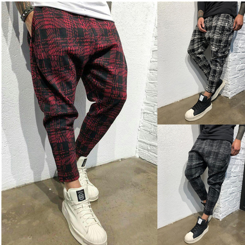Casual  Men's Twill Fashion Jogger Pants Stripe Urban Straight Casual Trousers Slim  Long Pants S-3XL