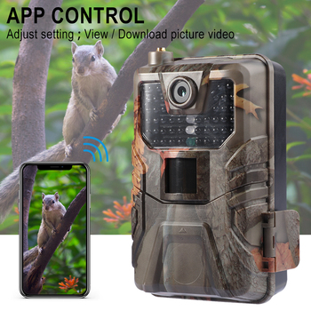 4K 30FPS Live Video Hunting Trail Camera 4G MMS 30MP Infrared Wildlife Surveillance Camera Night Vision Photo Trap Cloud Service 3