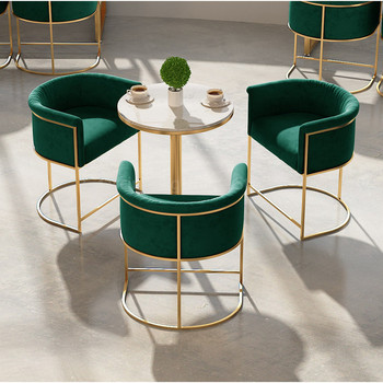Nowoczesne krzesło stołek barowy meble do salonu restauracja krzesło fotel wypoczynkowy krzesła do jadalni meble do sypialni szezlong barowy tanie i dobre opinie CN (pochodzenie) 800mm Jadalnia meble pokojowe H45cm Europa i ameryka Jadalnia krzesło Meble do domu Metal iron china