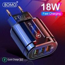 18w carregador rápido 3.0 carregador usb para o iphone 12pro max samsung tablet ue eua plug parede do telefone móvel carregador adaptador de carregamento rápido