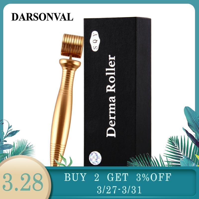DARSONVAL Metal Quality Derma Roller Micro Needles Titanium Microneedle Mezoroller Machine For Skin Care And Hair-loss Treatment