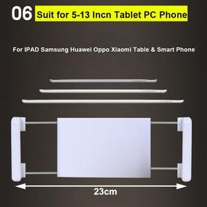 Image 5 - Arvin Support réglable pour tablette de 4 à 14 pouces, Support de Table/lit pour iPad, iPhone, Kindle