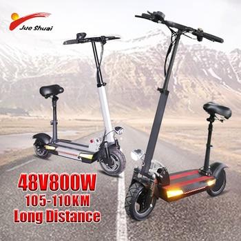Escooter 105-110KM de larga distancia, 800W, 26-30Ah, alta potencia, para adultos, patinetes, Patinete eléctrico Adulto
