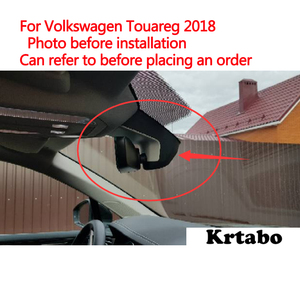 Image 5 - For Volkswagen Touareg 2018 2019 Car DVR Wifi Video Recorder Dash Cam Camera High Quality Night Vision Full HD