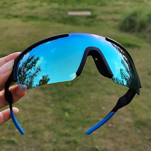 2020 homem polarizado ciclismo óculos de ciclismo bicicleta ciclismo óculos de sol esporte ciclismo uv400 esportes 1