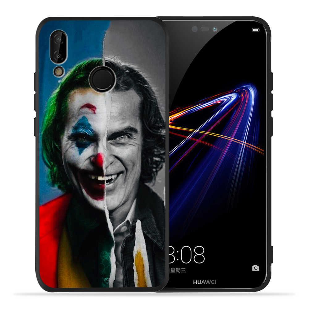 Di Lusso FAI DA TE DC Joker di Batman Cassa Del Telefono Personalizzato Per Huawei p20 Pro Caso P30 Pro P8 P9 Honor 8X 8C 9 10 20i Lite P Smart Etui Funda