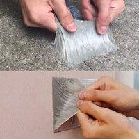 Protetor térmico de alumínio da folha butílica da fita autoadesiva impermeável para a reparação _ wk da tubulação do telhado