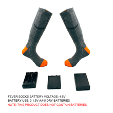 купить Thicken Warmer Socks Electric Heated Socks Rechargeable Battery For Women Men Winter Outdoor Skiing Cycling Sport Heated Socks по цене 1258.33 рублей