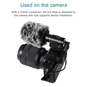 Image 2 - Mamen Siêu Máy Ảnh 3.5 Mm Micro Vlog Chụp Ảnh Cuộc Phỏng Vấn Kỹ Thuật Số HD Video Micro Thu Âm Cho Điện Thoại Thông Minh Và Máy Ảnh