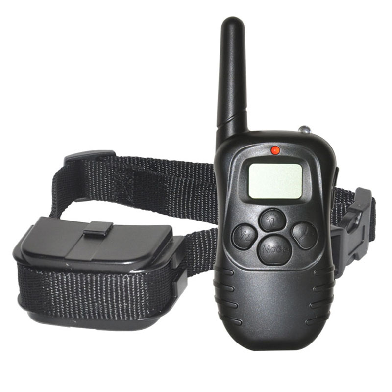 Anti-Bark Range 300m LCD Remote Electric Dog Collars for Training Dog and Dog Training Collar 998D image