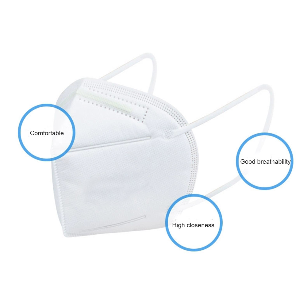 New Hot Folding Mouth Face Mask Filtration Cotton Mouth Masks Anti-Dust Masks with Breathing Valves 10Pcs/set