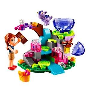 Image 5 - 10542女友達シリーズ休暇水泳プールフィギュアブロック建設レンガのおもちゃ